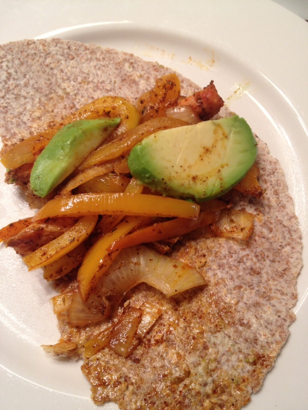 Clean Eating Oven Baked Fajita's