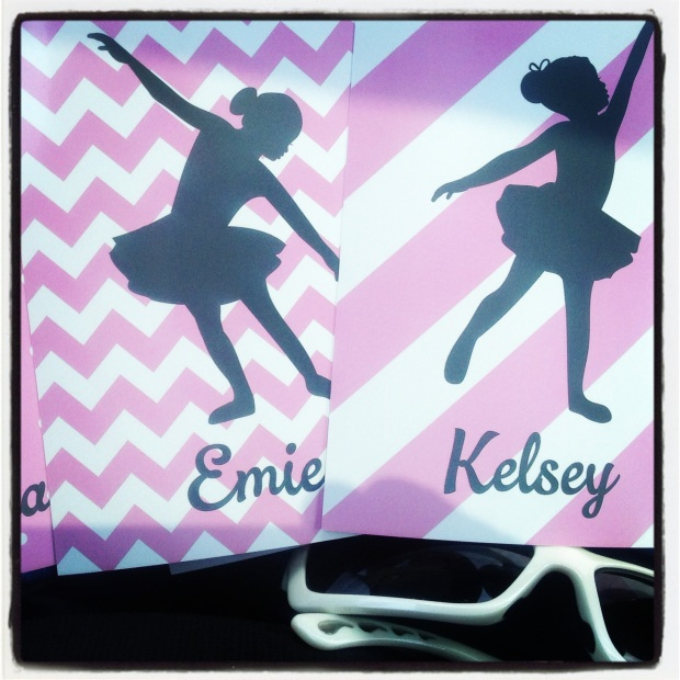 Luggage Tags for Sweet Ballerina's