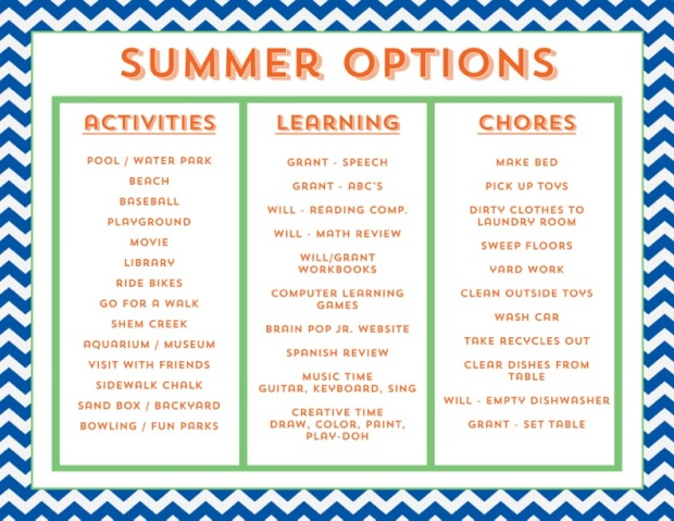 Summer_Options_Template
